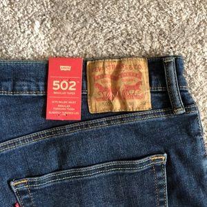 Levis 502 men's jeans 36x32